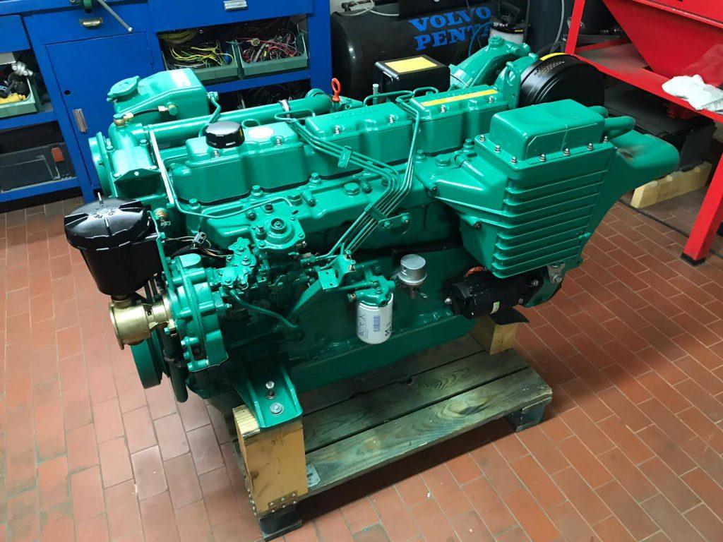 VOLVO PENTA MOD. AQAD41B – 200 cavalli turbo diesel 4