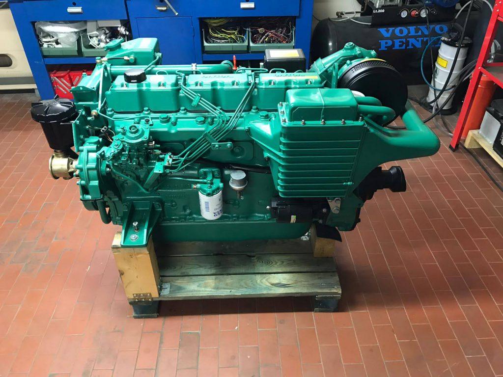 VOLVO PENTA MOD. AQAD41B – 200 cavalli turbo diesel 6